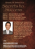 Secrets To Success- Daniel Dimacale