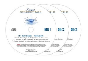 Straight Talk Volume #1   3 CD Audio training
