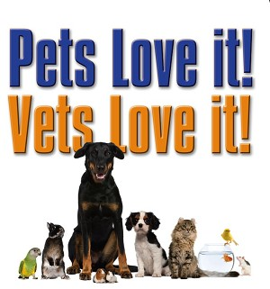 NEW!!  DVD Pets Love It Vets Love It