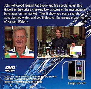 Pat Boone Product Demo DVD