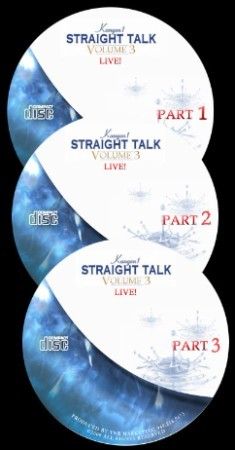 Straight Talk Volume #3 LIVE 3 CD Audio. If you liked vol 1 & 2 you'll love vol 3 LIVE